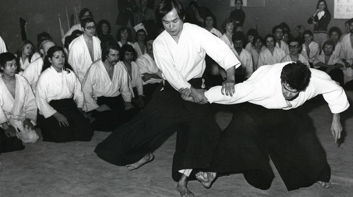 Chiba Sensei Strasbourg 1975
